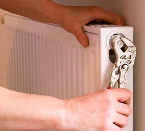 Reparación de radiador y calefacción en Madrid